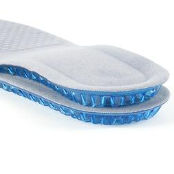 TOP SELLER : 1 Pair Men's Silicone Insoles Inserts Pads Cush
