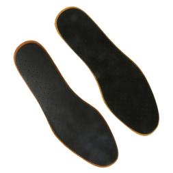 1 Pair Thin Leather Insoles Shoe Inserts Pads Unisex US Size