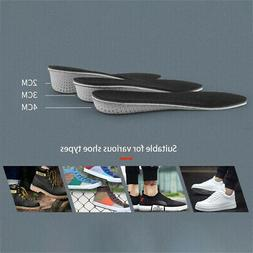 1Pair Breathable Comfortable Height Increase Insole Shoe Pad