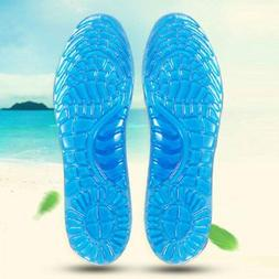 1Pair Shoe Silicone Gel Pad Insole Inserts Pain Relief Cushi