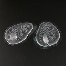 1Pair Women Men Silicone Shoe Insoles Inserts Bunion Correct