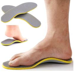 2pcs High Arch Support Pad Premium Orthotic Insoles Shoes Fo