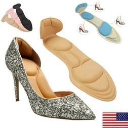 2PCS High Heel Shoe Cushion Insole Pad Grip Self Adhesive In