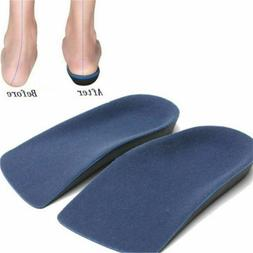 3/4 Length Orthotic Shoe Insoles Arch Support Heel Plantar F