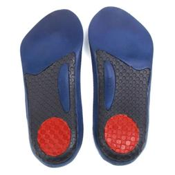 3/4 Orthotic Insoles Arch Support Pad Cushion Plantar Fascii