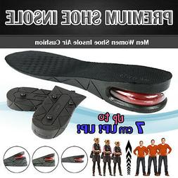 3/5/7cm Men Air Cushion Heel Shoe Insole Insert Increase Tal