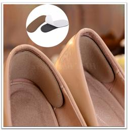 3 Pairs Soft Shoe Cushion Pads Liner Grip Back Heel Inserts