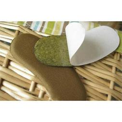 5 pairs of Sticky Fabric Shoe Pads Cushion Liner Grips Back