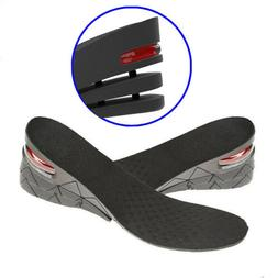 7cm Men Shoe Lift Insole Air Cushion Heel insert Increase He