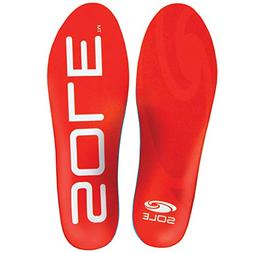 Sole Active Medium Volume Footbed Insoles, Mens Size 7 / Wom