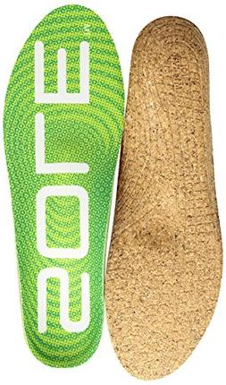 SOLE Active Medium + MET PAD Shoe Insoles, Green, 15 M US