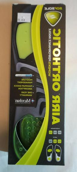 Sof Sole Airr Orthotic Full Length Performance Shoe Insoles,