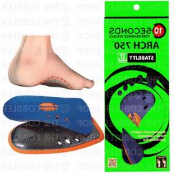 """Arch 750 Performance Insoles - Supreme 3/4"""" Insole Orthotics"""
