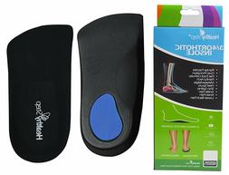 Healthy Step Arch Support Orthotic Insole Inserts 3/4 Length