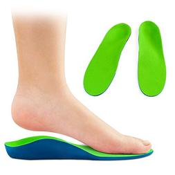 OptiFeet High Arch Support Orthotic Shoe Insoles Cup Cushion