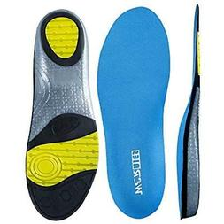 wernies Athletic Shoes Insoles for Mens Womens, Shoe Sole In