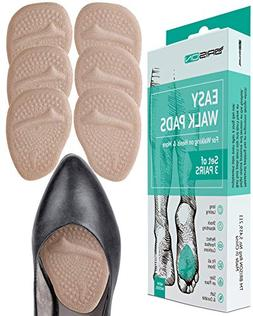 Ball of Foot Cushions High Heels - 3 Pairs  - Soft Gel Insol