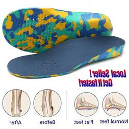 Best Kids Inserts Shoe Insoles Arch Support-Orthotic-Flat Fe