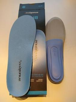 Superfeet Blue Premium Insoles Shoe Inserts Orthotics Size E