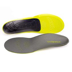 Superfeet Carbon Full Length Insoles, Gray, Small/6.5-8 WMNS