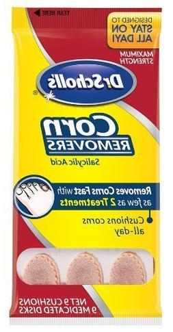 Dr. Scholl's Corn Removers, 9-Count Packages