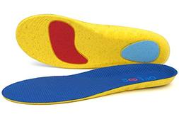 Dr. Foot's Athletic Shoes Insoles, Comfort Sports Foam Ins