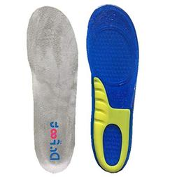 Dr. Foot's Sports Insoles, GEL Insoles for Shock Absorption,