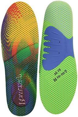 Powerstep Endurance Insole, Multicolor, Men's 10-10.5, Women