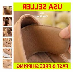 Fabric Shoe Pads Cushion Liner Grip Back Heel Inserts Insole