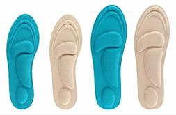 Foot Pain Relief Memory Foam Insole Designed for Aching,Swol