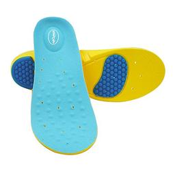 Happystep® full-length Memory Foam Gel Insoles provide cush