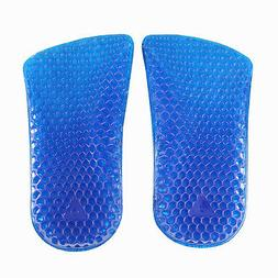 Gel Heel Cushions Heel Cups Shoe Inserts - Pain Relief Shock