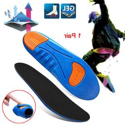 Gel Insoles Shoe Inserts Orthotic Arch Support Sport Shoepad
