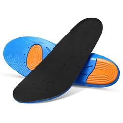 Gel Orthotic Sport Running Insoles Insert Shoe Pad Heel Supp