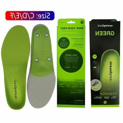 Superfeet GREEN Insoles Professional-Grade High Arch Orthoti