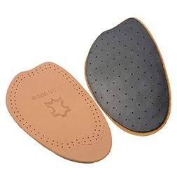 half insoles leather forefoot inserts