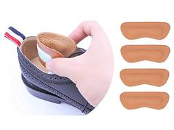 Shoe Heel Pads Grips Liners Inserts for Shoes Too Big,Shoe F