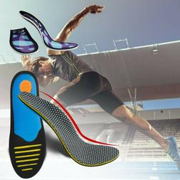 High Arch Orthotic Support Shoe Insoles Inserts Flat Feet Pl