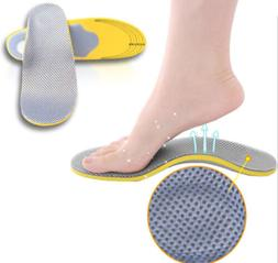 Hot Premium Orthotic Shoes Insoles Insert High Arch Support