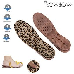 Unisex Increase Insole 3 Layer Height Shoes Heel Full Insert