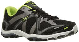 RYKA Women's Influence Cross-Training Shoe, Black/Sharp Gree