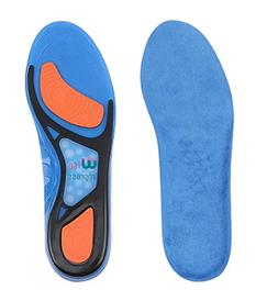 Shoe Inserts For Men And Women - Silicone Gel Cushioned For