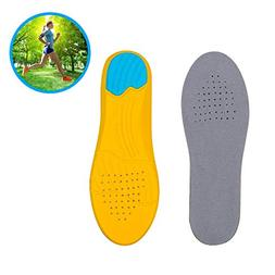 Isparks Sport Inserts Gel High Arch Support Shock Absorption