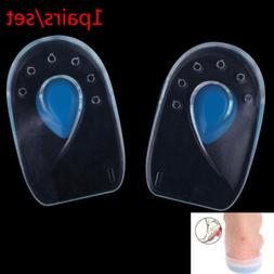 Inserts Heel Pain Spur Silicone Shoes Gel Pads Cushion Heel