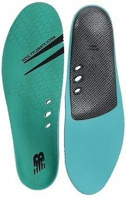New Balance Insoles 3720 Arch Stability Shoe, Teal, Medium/M