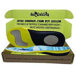 Insoles for Mens Running Shoes :: Full Length :: Comfort Ort