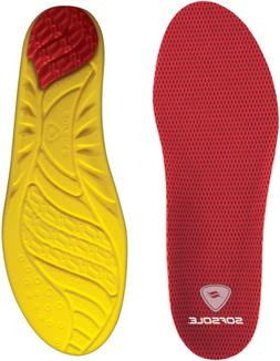 Sof Sole Insoles Mens High Arch Performance Full-Length Foam