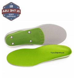 Superfeet Insoles Orthotics Shoe Inserts,Green, Sizes - B,C,