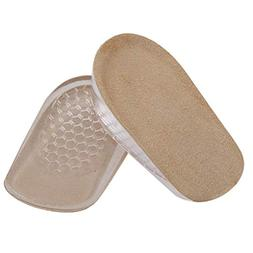 BESTOYARD 1cm Invisible Height Increase Insoles Half Insoles