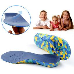 Kids Children Orthotic Insoles Orthopedic Flat Feet Arch Sup